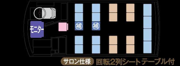 K22座席表