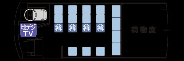 M19座席表